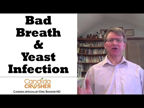 FAQ # 97  Will My Bad Breath Go Away When I Cure My Yeast Infection?