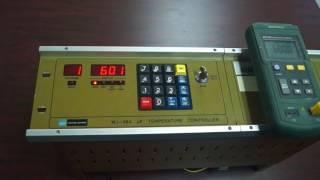 Watkins Johnson WJ-984 Temperature Controller testing