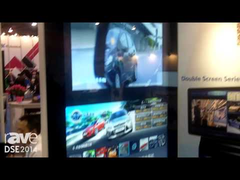 DSE 2014: Win All Introduces Its 55″ Double-Sided Displays for Retail
