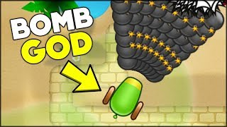 CAN YOUR BOMB TOWER DO THIS IN BLOONS?? // Bloons TD Battles Hack/Mod (BTD Battles)