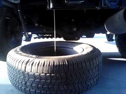 How to Remove the Spare Tire from an SUV (2004 Dodge Durango)