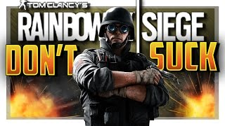HOW TO NOT SUCK WITH THERMITE in Rainbow Six Siege!