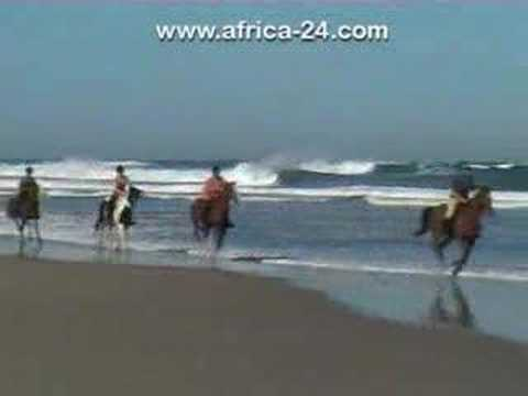 Wild Coast Horse Trails Video - Africa Travel Channel klip izle