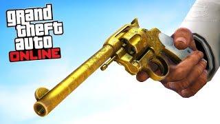 GTA 5 Online - Đi tìm bí mật kho báu cất cây súng vàng | ND Gaming