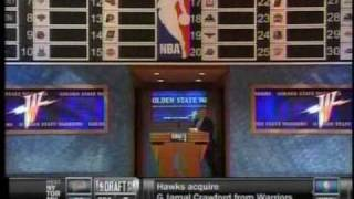 Warriors Draft Stephen Curry