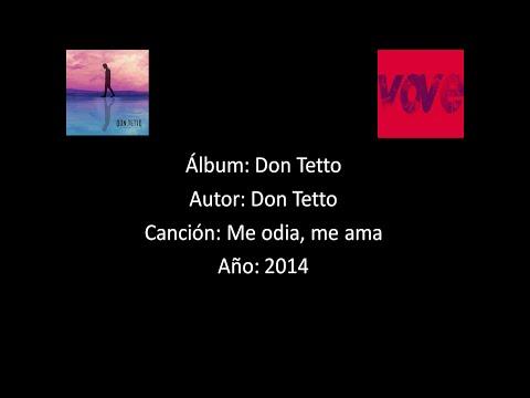 Don Tetto - Me Odia Me Ama