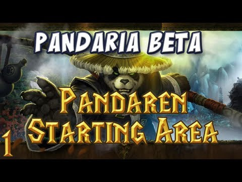Panda Starting Area Part 1 - Character Creation