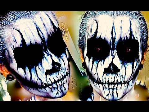 Corpse Paint; Halloween Makeup Tutorial.