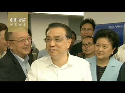 Premier Li Keqiang visits China's Silicon Valley