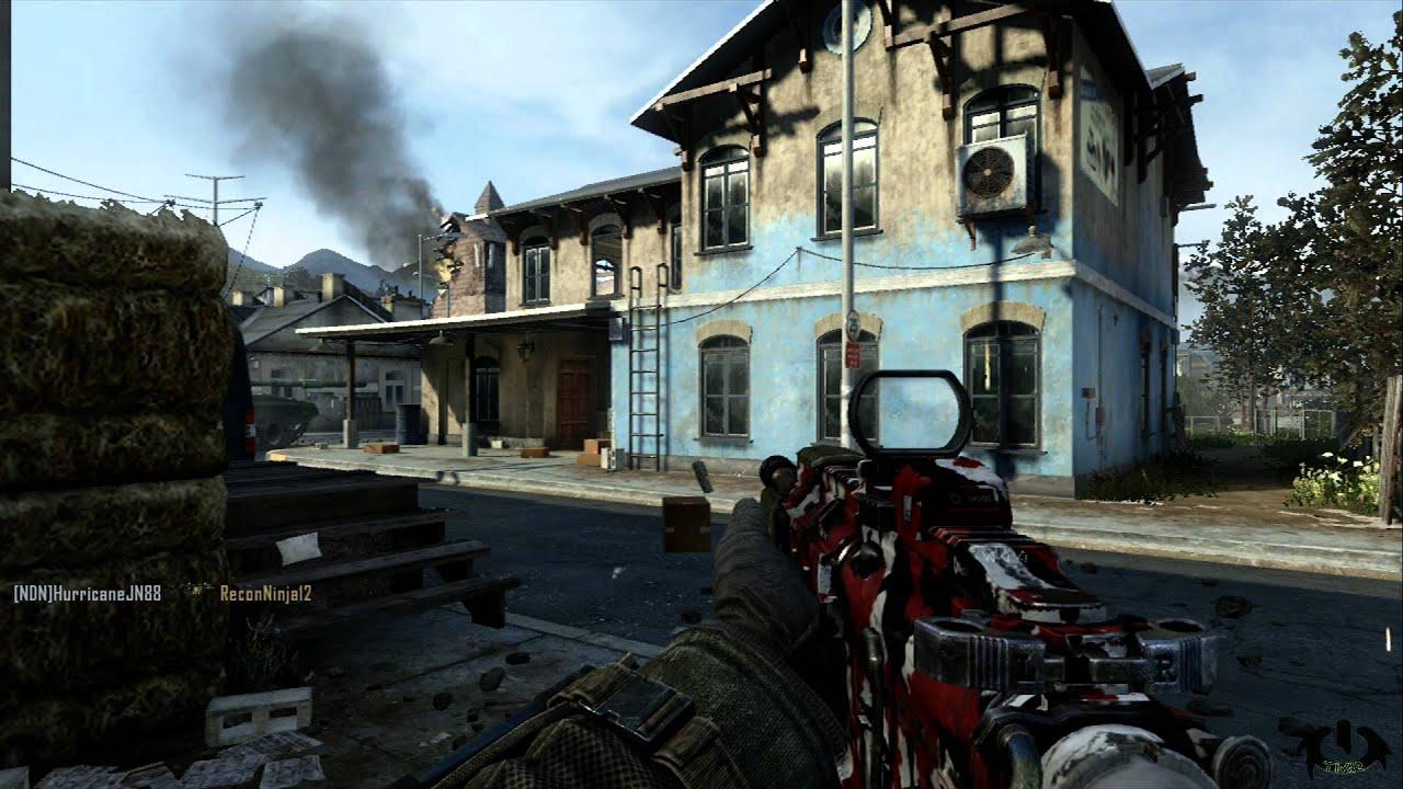 1080p Hd Call Of Duty Black Ops 2 Ii Tdm Map Standoff