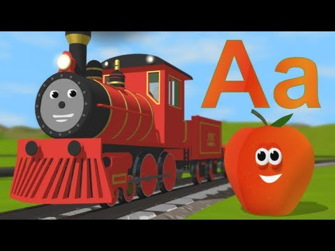 Learn about the letter A (with Alice's new voice!)