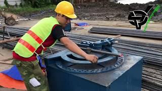 Máy uốn sắt B40 Toyo Nhật Bản, cung cấp và cho thuê máy uốn, cắt sắt