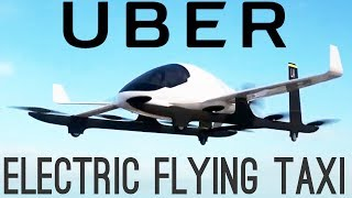 Uber's Electric Flying Taxis | NEW Battery Breakthroughs!
