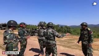 Bangladesh Army Fighting Training
