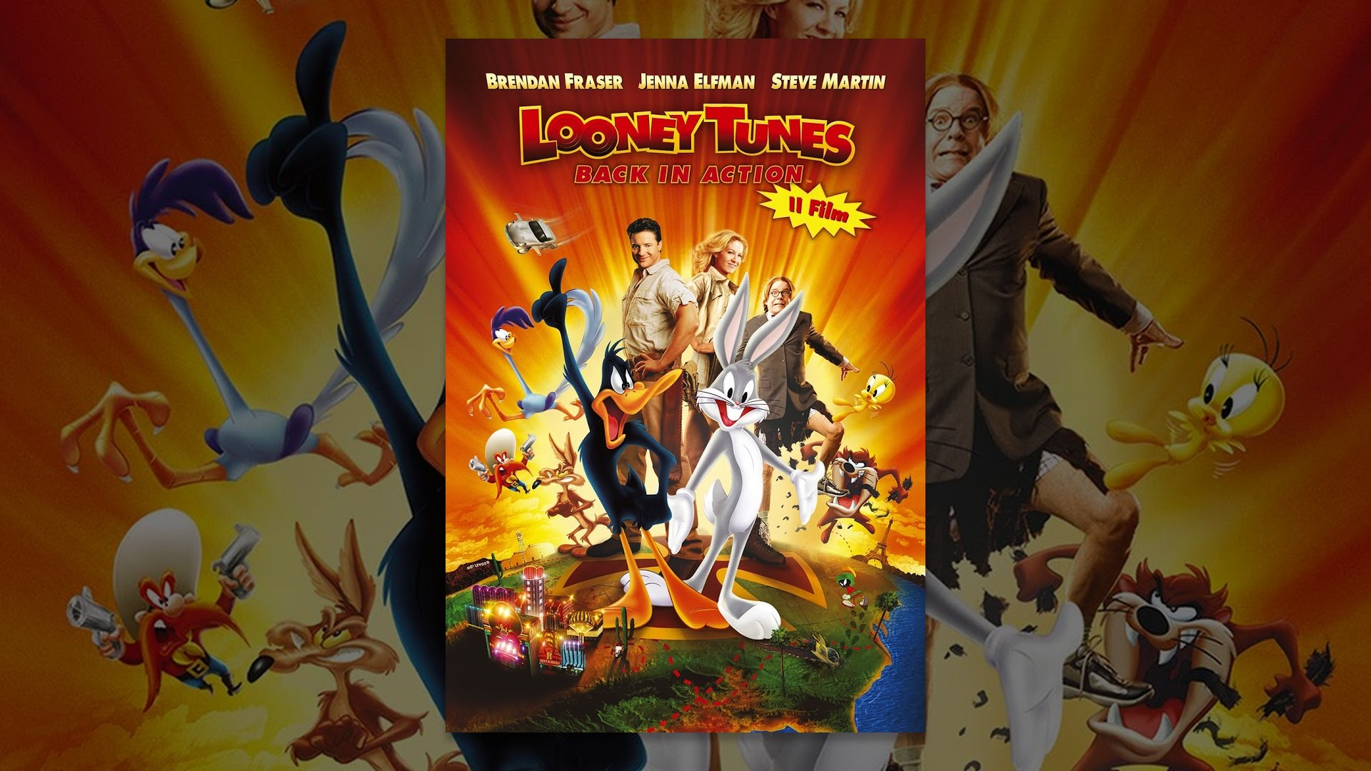 Looney tunes back in action streaming ita
