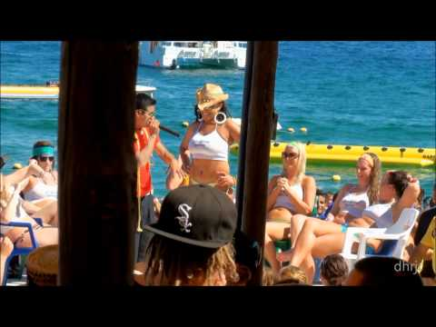 2011 Spring Break Cabo Mango Deck Wet T Shirt Competition video