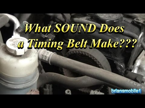 What SOUND Does the Timing Belt Make