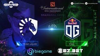 Liquid vs OG  | Best of 5 | Grand Finals | The International 9