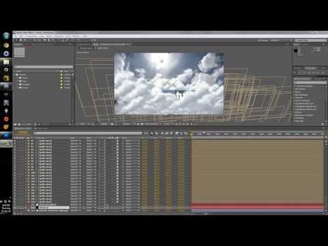 Puffy Cloud Fly Through Tutorial