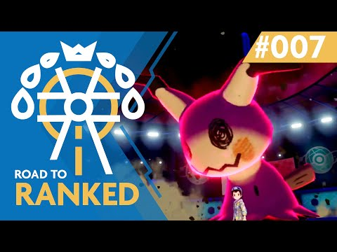 Road to Ranked #7 - Fear the Mimikyu | Competitive Pokemon Sword/Shield Battles