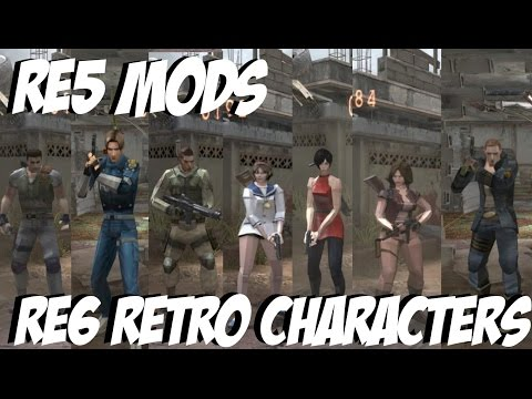 Resident Evil 5 Mods - Re6 Retro Characters