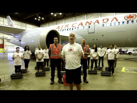 Air Canada's ALS Ice Bucket Callenge