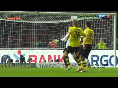 Borussia Dortmund vs Bayern Munich 0 2 ~ All Goals & Full Highlights DFB Pokal 17 05 2014 HD