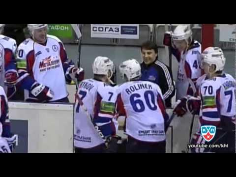 KHL: Day Dreaming Goalie Mkhail Biryukov's Epic Fail (video)
