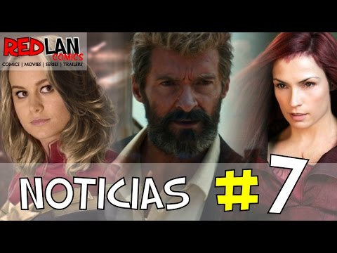Resumen de Noticias #7 | Logan | Jean Grey | Captain Marvel | Thor Ragnarok | X-23 | RedLan Comics