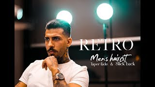 RETRO Men´s haircut ★ Taper fade ★ Méns Hair Inspiration #2018