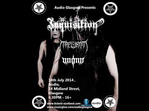 Inquisition (US) - Live at the Audio, Glasgow July 14th, 2014 FULL SHOW