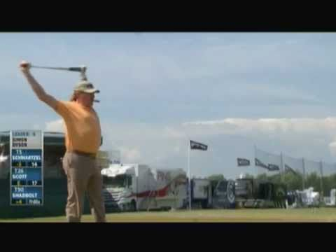 Miguel Angel Jimenez - Warm up & Stretching