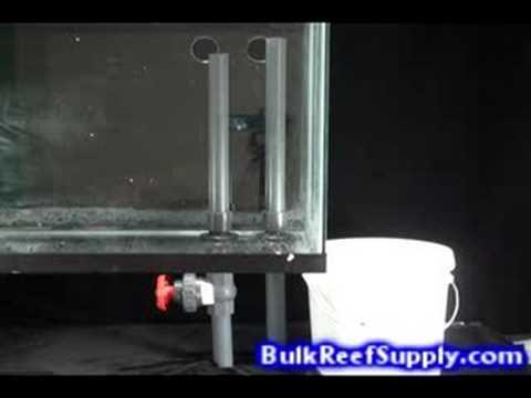 Ultra Quiet Reef Tank Overflow Youtube