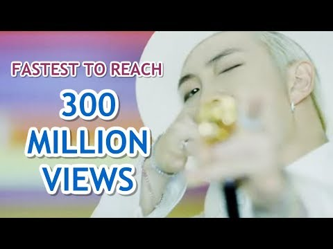 FASTEST K-POP GROUP MV TO REACH 300 MILLION VIEWS
