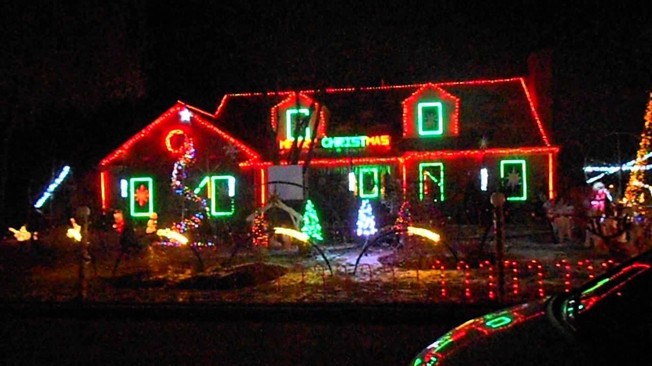 Christmas lights music house youtube for Christmas house music