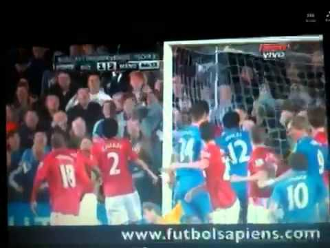Chelsea 2-3 Manchester United Goals and Highlights 28-10-12