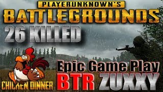 UWENAK REK.!!! PUBG Epic Game Play BTR ZUXXY Chicken Diner 26 Kill