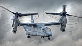 Awesome V-22 Osprey Footage - Trident Juncture 2015