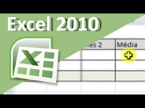 Excel 2010 para iniciantes. (Aula 2) - Formatação de células