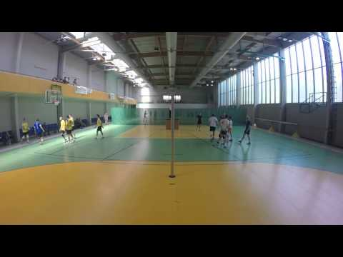 Puchar Ligi 2015: GeoVolley Team - XII (0:2) - Cały Mecz