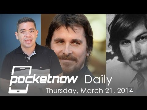 Christian Bale as Steve Jobs. HTC One countdown. AT&T GS5 & more - Pocketnow Daily