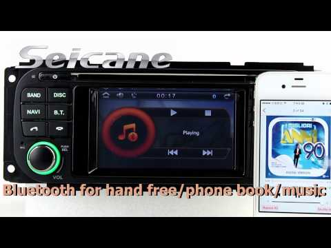 Cheap 2004-2007 Chrysler Town & Country In Dash Navigation Radio DVD Support Night Mode 3-Band EQ