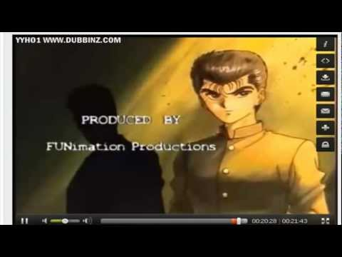 Yu Yu Hakusho   English Version     End  Credits Track video