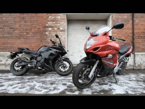 2010 Yamaha XJ6 Diversion F v Suzuki GSX650F review