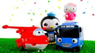 Видео для детей про детский сад аквапарк горки и игрушки. Капуки Кануки