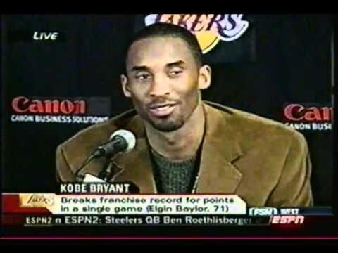 Kobe Bryant Scores 81 Points (Sportscenter Coverage)