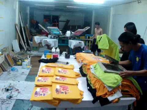 t Shirt Printing Table T-shirt Printing/ B-ads
