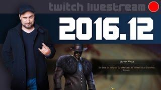Livestream 2016 #12 - News, Victor Vraaaaaaan