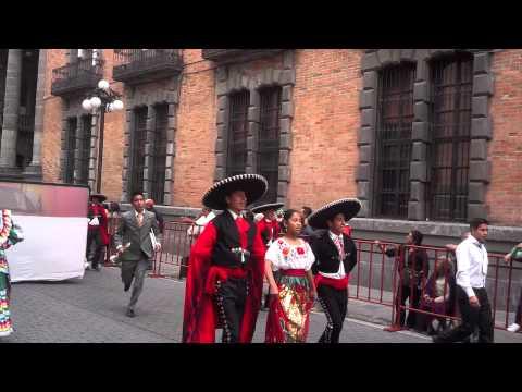 Desfile 16 Sep- Puebla 2014 Ángeles de Puebla