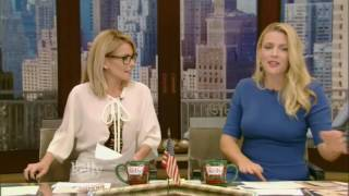 Live With Kelly 12/02/2016 Chelsea Handler: Randall Park, co host Busy Philipps